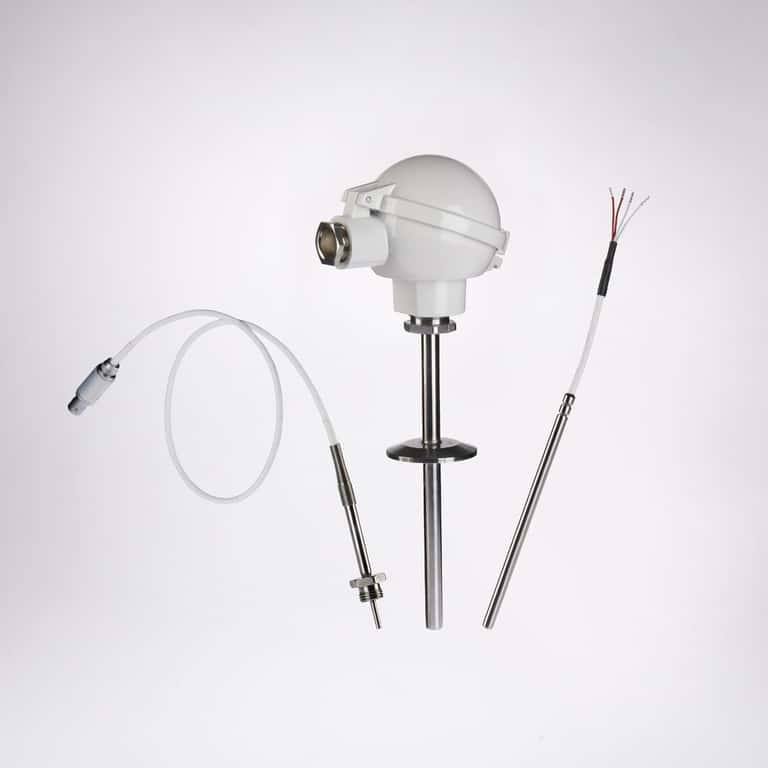 Resistance thermometer assembly CP100